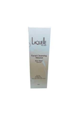 LAQUELLE RICE YEAST FACIAL CLEANSING MOUSSE