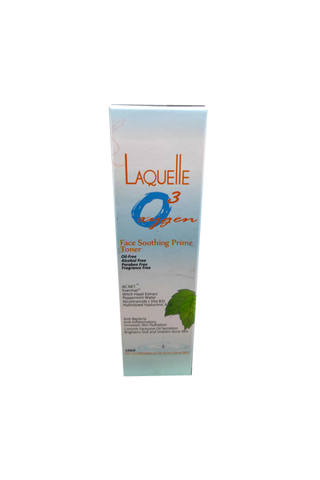 LAQUELLE O3 FACE SOOTHING PRIME TONER