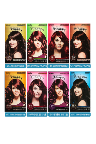SEHWA B-HAPPY HAIR COLOR CREAM