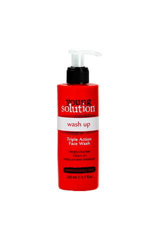 YOUNG SOLUTION WASH UP TRIPLE ACTION FACE WASH