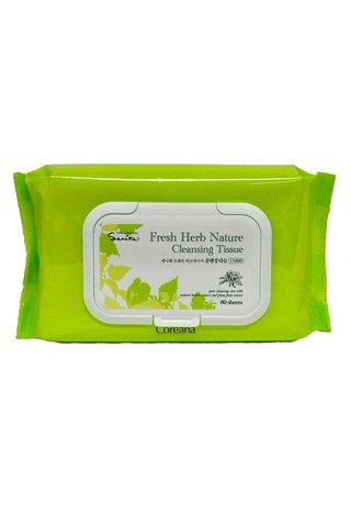 COREANA FRESH HERB NATURE CLEANSING TISSUE