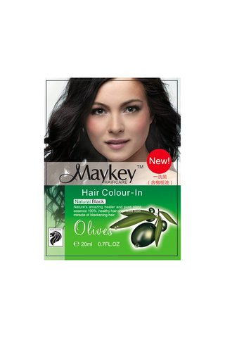 MayKey Hair Colour Natural Black