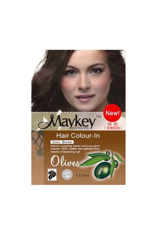 MayKey Hair Colour Dark Brown