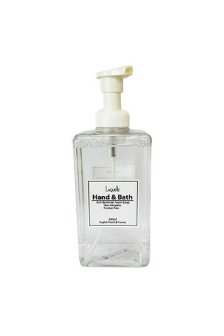 Laquelle Hand & Bath Anti Bacterial Foam Soap