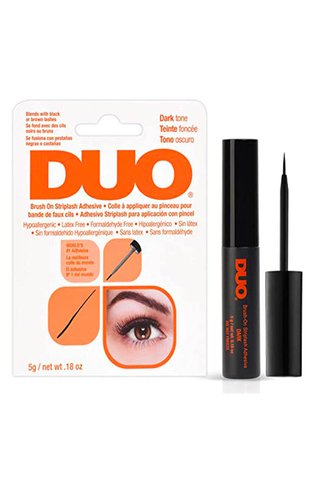 DUO BRUSH ON STRIP LASH ADHESIVE (BLACK)
