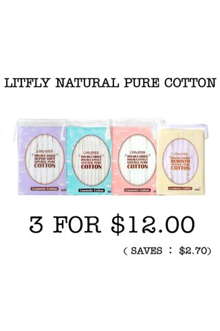 LITFLY NATURAL PURE COTTON