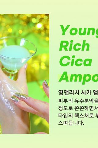 Javin De Seoul Young & Rich Cica Ampoule 30ML