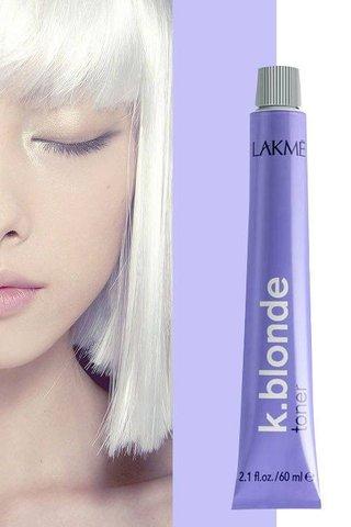 Lakme K. Blonde Toner (SILVER/PEARL) 60ML