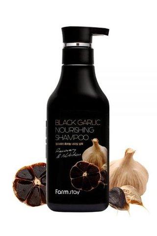 FARMSTAY BLACK GARLIC NOURISHING SHAMPOO 530ML