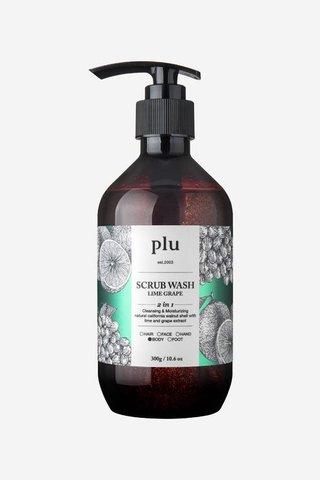 Plu Lime Grape Scrub Wash 500ML