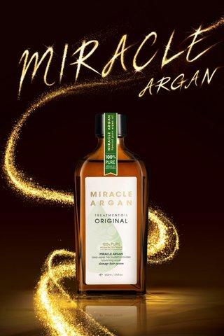 MERIT MIRACLE ARGAN OIL ORIGINAL 100ML