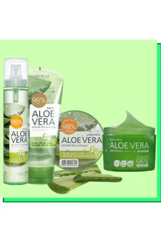 Kwailnara Aloe Vera Moisture Real Soothing Gel 150ML/500ML
